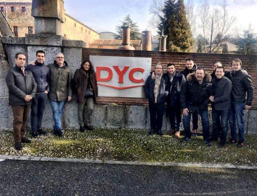 Visita del equipo comercial a las Destilerias de DYC, el whisky más vendido en nuestro país.